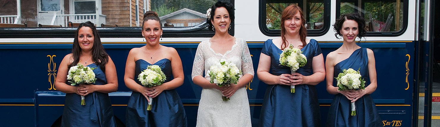 Brides, Bridesmaid, Mother-of-the-bride, Flower girls!